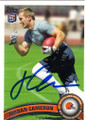 JORDAN CAMERON CLEVELAND BROWNS AUTOGRAPHED ROOKIE FOOTBALL CARD #31315A