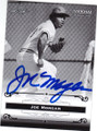 JOE MORGAN 2012 NATIONAL CONVENTION AUTOGRAPHED BASEBALL CARD #31315F