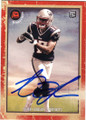AARON DOBSON NEW ENGLAND PATRIOTS AUTOGRAPHED ROOKIE FOOTBALL CARD #31415A