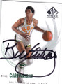 BILL CARTWRIGHT UNIVERSITY OF SAN FRANCISCO DONS AUTOGRAPHED BASKETBALL CARD #31415J