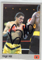 VIRGIL HILL AUTOGRAPHED BOXING CARD #31615T