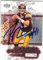 PATRICK RAMSEY WASHINGTON REDSKINS AUTOGRAPHED & NUMBERD FOOTBALL CARD #31715F