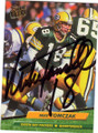 MIKE TOMCZAK GREEN BAY PACKERS AUTOGRAPHED FOOTBALL CARD #31715N
