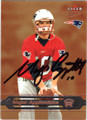 MAJOR APPLEWHITE NEW ENGLAND PATRIOTS AUTOGRAPHED & NUMBERED ROOKIE FOOTBALL CARD #31915A