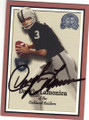 DARYL LAMONICA OAKLAND RAIDERS AUTOGRAPHED FOOTBALL CARD #31915K