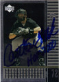 CARLTON FISK CHICAGO WHITE SOX AUTOGRAPHED BASEBALL CARD #32215E