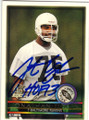 JONATHAN OGDEN BALTIMORE RAVENS AUTOGRAPHED ROOKIE FOOTBALL CARD #32315M