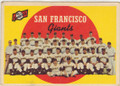 SAN FRANCISCO GIANTS VINTAGE TEAM CARD #32415J
