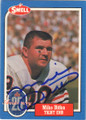MIKE DITKA CHICAGO BEARS AUTOGRAPHED VINTAGE FOOTBALL CARD #32415O