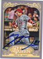MIKE TROUT LOS ANGELES ANGELS OF ANAHEIM AUTOGRAPHED ROOKIE BASEBALL CARD #32615E