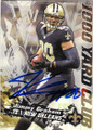 JIMMY GRAHAM NEW ORLEANS SAINTS AUTOGRAPHED FOOTBALL CARD #32715G