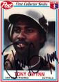 TONY GWYNN SAN DIEGO PADRES AUTOGRAPHED BASEBALL CARD #33115i