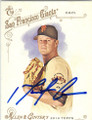 MATT CAIN SAN FRANCISCO GIANTS AUTOGRAPHED BASEBALL CARD #40315D