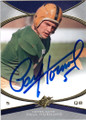 PAUL HORNUNG NOTRE DAME FIGHTIN' IRISH AUTOGRAPHED FOOTBALL CARD #40315E