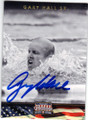 GARY HALL SR AUTOGRAPHED OLYMPIC SWIMMING CARD #40415D