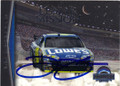 JIMMIE JOHNSON AUTOGRAPHED NASCAR CARD #40415O