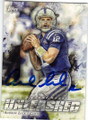 ANDREW LUCK INDIANAPOLIS COLTS AUTOGRAPHED FOOTBALL CARD #40715E