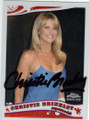 CHRISTIE BRINKLEY AUTOGRAPHED CARD #40815A