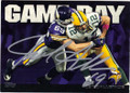 JARED ALLEN MINNESOTA VIKINGS AUTOGRAPHED FOOTBALL CARD #41015i