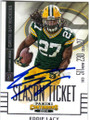EDDIE LACY GREEN BAY PACKERS AUTOGRAPHED FOOTBALL CARD #41115i