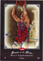 BILLY CUNNINGHAM PHILADELPHIA 76ers AUTOGRAPHED BASKETBALL CARD #41215K