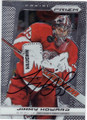 JIMMY HOWARD DETROIT RED WINGS AUTOGRAPHED HOCKEY CARD #41515D