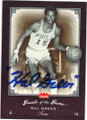 HAL GREER PHILADELPHIA 76ers AUTOGRAPHED BASKETBALL CARD #41515M