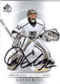 JONATHAN QUICK LOS ANGELES KINGS AUTOGRAPHED HOCKEY CARD #41515O
