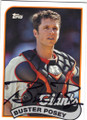 BUSTER POSEY SAN FRANCISCO GIANTS AUTOGRAPHED BASEBALL CARD #41615C
