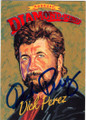 DICK PEREZ, ARTIST, AUTOGRAPHED BASEBALL CARD #41715N