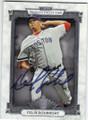 FELIX DOUBRONT BOSTON RED SOX AUTOGRAPHED BASEBALL CARD #41815B