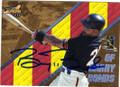BARRY BONDS SAN FRANCISCO GIANTS AUTOGRAPHED BASEBALL CARD #42215G