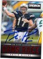 PHILIP RIVERS SAN DIEGO CHARGERS AUTOGRAPHED FOOTBALL CARD #42415C
