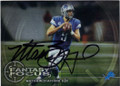 MATTHEW STAFFORD DETROIT LIONS AUTOGRAPHED FOOTBALL CARD #42415F