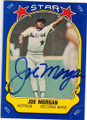 JOE MORGAN HOUSTON ASTROS AUTOGRAPHED VINTAGE BASEBALL CARD #42515E