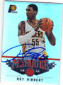 ROY HIBBERT INDIANA PACERS AUTOGRAPHED BASKETBALL CARD #42715A