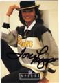 TONI LIPPS PITTSBURGH STEELERS AUTOGRAPHED FOOTBALL CARD #42915J