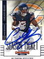 ALSHON JEFFERY CHICAGO BEARS AUTOGRAPHED FOOTBALL CARD #50715A
