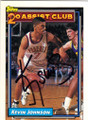 KEVIN JOHNSON PHOENIX SUNS AUTOGRAPHED BASKETBALL CARD #51115B