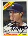 JOE NATHAN DETROIT TIGERS AUTOGRAPHED BASEBALL CARD #52915C