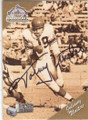 JOHNNY UNITAS BALTIMORE COLTS AUTOGRAPHED FOOTBALL CARD #53015B