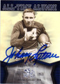JOHNNY LATTNER NOTRE DAME FIGHTING IRISH AUTOGRAPHED FOOTBALL CARD #53115G