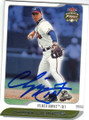 CHIPPER JONES ATLANTA BRAVES OUTFIELDER AUTOGRAPHED BASEBALL CARD #60415A