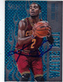 KYRIE IRVING CLEVELAND CAVALIERS AUTOGRAPHED BASKETBALL CARD #60415E