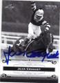 JEAN CRUGUET AUTOGRAPHED HORSE RACING CARD #60815B