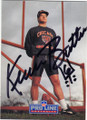 KEVIN BUTLER CHICAGO BEARS AUTOGRAPHED FOOTBALL CARD #60915J