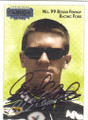 CARL EDWARDS AUTOGRAPHED NASCAR CARD #61015F