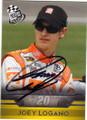 JOEY LOGANO AUTOGRAPHED NASCAR CARD #61015O