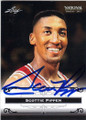 SCOTTIE PIPPEN CHICAGO BULLS AUTOGRAPHED BASKETBALL CARD #62115G