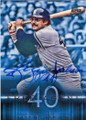 REGGIE JACKSON NEW YORK YANKEES AUTOGRAPHED BASEBALL CARD #62415D